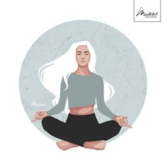 Art And Illustration, Yoga Kunst, Yoga Painting, Yoga Drawing, Yoga Art, Book Cover Art, Freelance Illustrator, Namaste, Concept Art