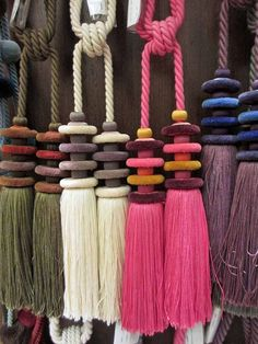 Clarence House modern tassels