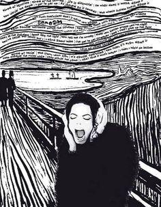 d'après le cri de Munch