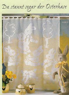 Die 103 Besten Bilder Von Filethäkeln Ostern Filet Crochet