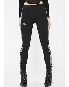 Dark 222 Banda Anen Leggings  dollskill  kappa  streetstyle  authentic   leggings Slim 6f0e390dd4c7c