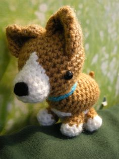 Dog Corgi Amigurumi - Free Pattern -PDF Download Click: http://www.craftsy.com/user/888139/pattern-store