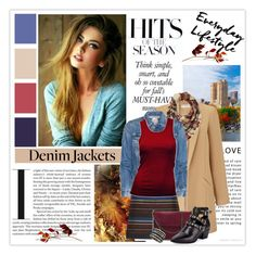 """""""Denim Jackets"""" by tinayar ❤ liked on Polyvore featuring Miss Selfridge, Charlotte Russe, SUNO New York, STELLA McCARTNEY, Jules Smith and Yves Saint Laurent"""