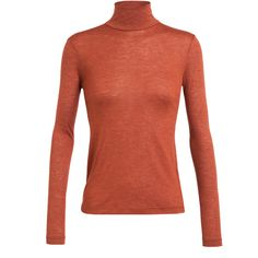 AKRIS Cashmere-silk Jersey Turtleneck