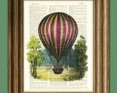 Pink Balloon Print