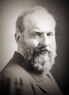James Garfield, 1881 (US President, murdered in 1881).    Photographer: Napoleon Sarony, NY.