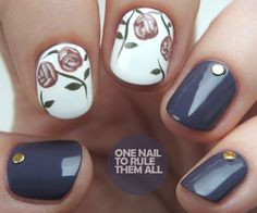 One Nail To Rule Them All: nail art
