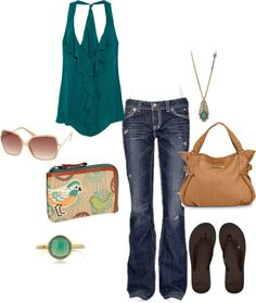 summer, created by beckylou-1 on Polyvore