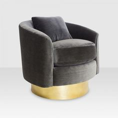 MONTGOMERY SWIVEL CHAIR Upholstered Swivel Chairs, Love Chair, Tub Chair, Accent Pieces, Timeless Design, Accent Chairs, Contemporary, Bedroom, Furniture