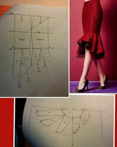 Awesome 30 Sewing tutorials projects are offered on our internet site. Have a look and you wont be sorry you did. Sewing Pants, Sewing Clothes, Skirt Patterns Sewing, Clothing Patterns, Fashion Sewing, Diy Fashion, Costura Fashion, Diy Clothing, Modest Clothing