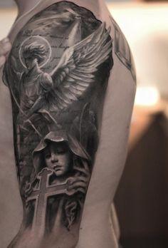 Faith sleeve tattoo - 35 Inspiring Faith Tattoos