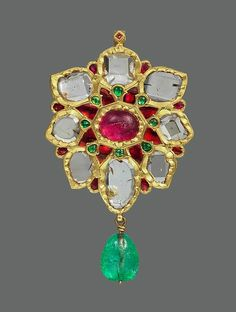Floral Pendant with Upswept Petals, first half of the 17th century