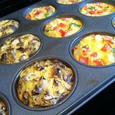 Breakfast Cupcakes-- just add eggs, your favorite veggies, TS seasonings (eg. Onion Onion, Spinach & Herb, Garlic Garlic), and cheese. Bake at 375 for 30 minutes. Reheat in microwave as needed.