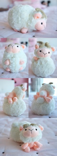 *MamaNote: So cute! I don't need or want any stuffed animals, but this is too much.