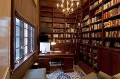 Your home library can also be your home office and you can make it look professional
