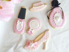 春のアイシングクッキー!Spring Tweeds Fasion