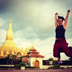 Yupppi!  Es viernes y hay puente!  Recordando mi paso por Laos...