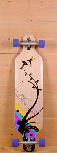 "The Madrid 39"" Bamboo Longboard is designed for carving, cruising, and freestyle."