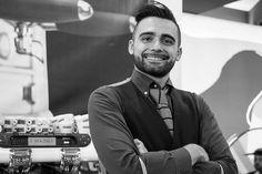 """""""Sono proprietario di una scuola per Bartender a Bologna, l'Accademia del Bar. Come docente mi occupo di formare i futuri barman e aggiornare i professionisti.   Usiamo tanti prodotti Fabbri, soprattutto l'Amarena, per le nostre preparazioni. È un prodotto fantastico e siamo veramente orgogliosi di collaborare con l'azienda.""""  (Nella foto: Alessandro)  #storiediamarena"""
