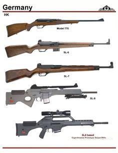 Германия: HK Model 770, HK SL-6, HK SL-7, HK Sl-8