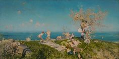 Francesco Paolo Michetti, Springtime and Love, 1878