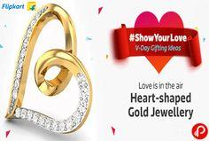 Flipkart Valentine Gift brings Heart-Shaped Gold Jewellery. Artificial Jewellery, Precious Jewellery, Earrings, Necklaces & Chains, Nose Rings & Studs, Pendants & Lockets, Bangles, Bracelets & Armlets, Rings, Jewellery Sets, Mangalsutras & Tanmaniyas. #ShowYourLove  http://www.paisebachaoindia.com/heart-shaped-gold-jewellery-showyourlove-valentine-gift-offers-flipkart/