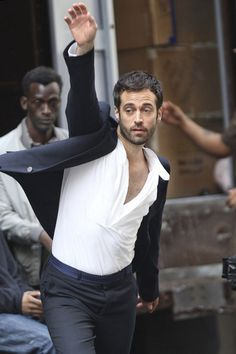 Benjamin Millepied Photos Photos: Benjamin Millepied Films a Commercial in SoHo Benjamin Millepied, Future Wife, Expecting Baby, Natalie Portman, Cool Cats, Soho, Yves Saint Laurent, Actresses, Film