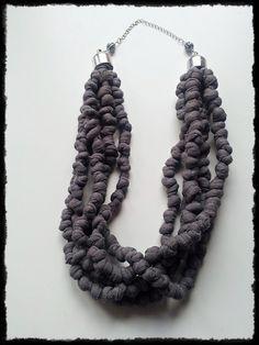 tutorial collana di lana tubolare all'uncinetto - Cerca con Google