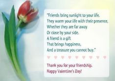 happy valentines day my friends messages