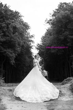 A Wow wedding dress of a wedding couple I photographed this Thursday! #selynphotography #fotostudioselijn