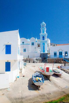 A small shipyard in Kasos island. Crete Greece, Santorini Greece, Athens Greece, Places To Travel, Places To Visit, Travel Destinations, Places Around The World, Around The Worlds, Wonderful Places
