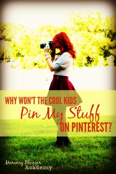 Wondering why no one is pinning your images on Pinterest? Read this.