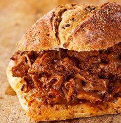 Saucy Pulled Pork Sandwich Recipe on Yummly. @yummly #recipe