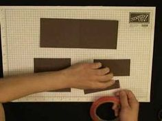 video to make a father's day cardstock wallet...maybe adapt for sewing a real wallet?