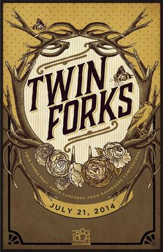 TWIN FORKS with SERYN at MINGLEWOOD HALL JULY 21st!