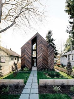"""enochliew: Palatine Passive House by Malboeuf Bowie… """""""