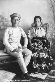 Austronesian Moro people, Philippines (1900)
