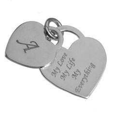 Pandantiv #inimioare argint personalizat http://www.cadouripersonale.ro/Pandantiv-argint-inimioare-pentru-personalizat-p-17189-c-379-p.html