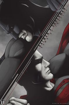 Batman V Superman : Dawn of justice poster art. by Niyoarts on DeviantArt