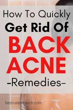 Back Acne Remedies, Scar Remedies, Back Acne Treatment, Homemade Essential Oils, Acne And Pimples, Body Acne, Happy Skin, How To Get Rid Of Acne, Health And Beauty Tips