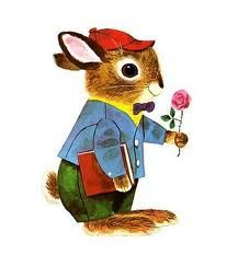 """Richard Scarry, The Bunny Book """"Rabbits like to get dressed up if the are going to be in a storybook"""" super cute Richard Scarry, Bunny Book, Bunny Art, Vintage Children's Books, Children's Book Illustration, Woodland Illustration, Illustration Techniques, Book Illustrations, Retro"""