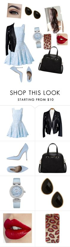 """""""Ii"""" by veronika-altanez on Polyvore featuring Alex Perry, Alexander McQueen, Norma J.Baker, Furla, OMEGA, Natasha Accessories, women's clothing, women, female and woman"""