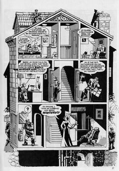 MIKE ALLRED Picks His Favorite WILL EISNER Splash Page! | 13th ...