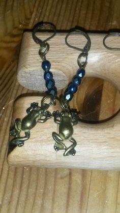 Kleine Frosch Ohrringe