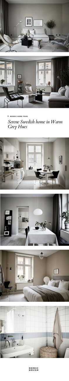 Nordic Home Tour: Serene Swedish Home in Warm Grey Hues | NORDIC DESIGN