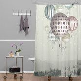 Found it at Wayfair - Belle13 Winter Dreamflight Shower Curtain