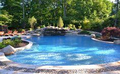 swimming pool design photo: New Jersey Swimming Pools Landscaping Pool Design: Tranquility Pools tranquality.jpg