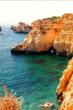 Algarve, Portugal = THIS is what the coast of Northern Spain looks like too! It is SO incredibly beautiful! It takes your breath away ... well at least it took MINE away! But then I am in awe of the beauty of the world that we live in, so that happens to me all the time!