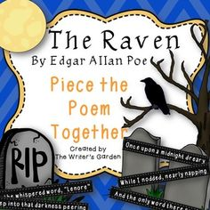 """figurative language the raven edgar allen poe The complexity of """"the raven"""" by edgar allan poe can be understood further by  analyzing the poem regarding the linguistic and stylistic choices of the author."""