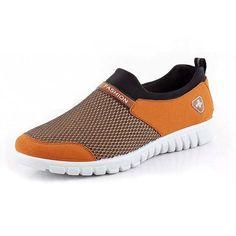 Men's Shoes Well-Educated Spring New Net Shoe Man Breathable Cloth Shoes Tide Black Lattice Strap Shoe Men's Casual Shoes